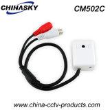 Microphone de télévision en circuit fermé pour le système de surveillance avec à faible bruit (CM502C)