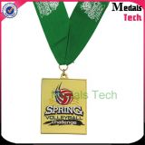 Medaglia di sport del metallo personalizzata ricordo 3D Runing con la Turchia Shapeals