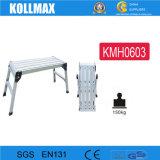 Ladder van het Platform van de Kruk van het Aluminium van de vervaardiging de Werkende