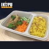 Контейнер коробки еды ясной пульпы устранимый