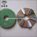 Пусковые площадки диаманта металла полируя с велкроим