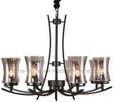 Nuova lampada del lampadario a bracci di disegno con tonalità di vetro (SL2246-8)