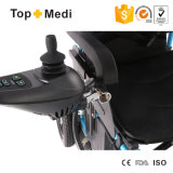 Sedia a rotelle elettrica di piegatura resistente Handicapped delle attrezzature mediche