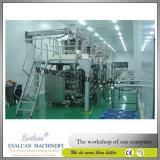 Farinha de trigo, máquina de embalagem vertical do pó da proteína com enchimento do eixo helicoidal