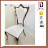 Роскошный трактир гостиницы серебра золота обедая стул нержавеющей стали o задний (BR-F481)