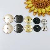Bouton de couture de bouton-pression de trous du bouton quatre de rupture en métal d'alliage pour la jupe