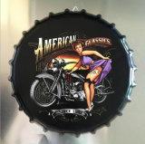 Tampão de frasco feito sob encomenda da cerveja para a decoração da parede