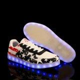 Unsex bunte Tenis Schuhe LED mit 7 Farben 11 Modi