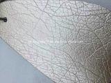 소파를 위한 Pearling 효력 Microfiber 지상 가죽