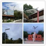 Lampe carrée de haute énergie de DEL allumant le réverbère solaire de DEL pour l'éclairage public