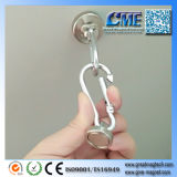 Magnetic Carabiner Hook Magnetic Hook with Carabiner