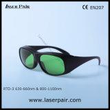 V.L.T 35% 635nm Rode Lasers + 808nm, de Veiligheidsbrillen van de Laser van de Bril van de Veiligheid van de Laser van de Dioden van 980nm met Zwart Frame 33