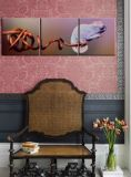 Pittura a olio Handmade della parete di arte della tela di canapa dei fiori delle pitture di alta qualità
