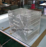 Boîte de présentation transparente acrylique faite sur commande