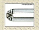 Tubo dello scambiatore di calore dell'acciaio inossidabile