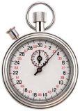 Измеряя секундомер инструмента механически