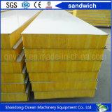 Comitato di parete d'acciaio del panino di colore fatto dello strato di PPGI per la costruzione della struttura d'acciaio