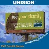 Unisign покрыло гибкий трубопровод PVC рекламируя знамя