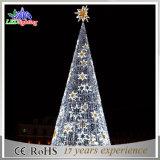 2017 옥외 최신 새로운 3D LED 수정같은 나무 탑 크리스마스 불빛