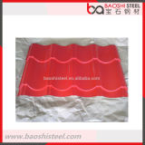 Hoja barata acanalada concreta secundaria del material para techos de la prueba de calor