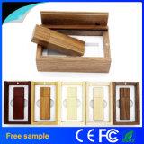 Flash Drive 100% de la capacidad verdadera de madera USB de memoria USB de madera