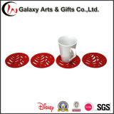 Los nuevos productos prácticos se dirigen la estera útil de la taza del fieltro de la aduana del item de Eco de la decoración del partido