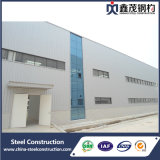 Edificio barato prefabricado del taller de la estructura de acero