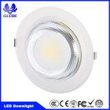 Ce Certificado RoHS 10W 20W 30W luzes de teto LED Down Light para o hotel