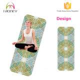 Stuoia di yoga della gomma naturale con il contrassegno privato di stampa su ordinazione