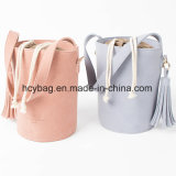 2017 Popular Candy Corssbody Bucket Handbags Designer Fashion Lady Hand Bag Hcy - 1108