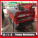 China-Lieferant runzelte die Dach-Fliese-Rolle, die Maschine bildet