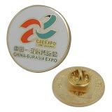 Латунная круглая эмблема Китая-Eurasiaexpo