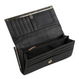Бумажник женщин фабрики оптовый, черная повелительница Портмоне Карточка Бумажник PU кожаный