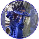 ANSI-industrielles Ventil flanschte Wcb Kugel-Ventile