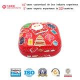 Коробка олова упаковки украшения способа празднества качества еды конфеты печенья (S001-V5)