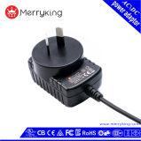 переходника электропитания DC AC штепсельной вилки Au 12V 1A для CCTV