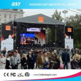 P3.91 SMD2525の催し物のイベントのための屋外の使用料のLED表示スクリーン6500CD/M2