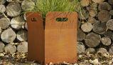 Fo-9c07 Corten Stahlpflanzer-Blumen-Potenziometer für Garten-Dekoration
