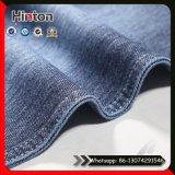 Coton Lycra Knitting Denim Fabric Slub Knit Jean Fabric