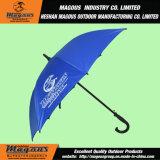 Parapluie droit de golf de Hande de crochet