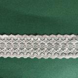 Laço do aparamento com tela ondulada do laço da borda para a roupa