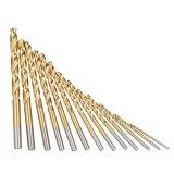 Ti de morceaux de foret de torsion de HSS enduisant 1-13mm 6542