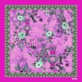 Lenço de seda impresso Digitas bonito (F13-0022)
