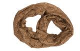 Lenço de colar de poliéster de nylon polido com seda sólida (ABF22005201)