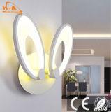 Del aspecto lámpara de pared encantadora de la iluminación raramente LED