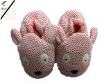 3つのカラー動物ヘッド編む靴(RY-SL1638)