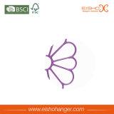 花の整形ビニールの金属のスカーフのハンガー(TS270)