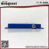 GSM/WCDMA 900/2100MHz 2g 3G 4G 로그 정기적인 안테나를 가진 이동할 수 있는 신호 증폭기