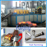 24 horas del deber completo de la inducción de máquina de frecuencia media de Heatng para la forja de la barra de acero