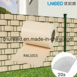 좋은 품질 Ral1015 450g 19cm*35m PVC 지구 스크린 정원 담